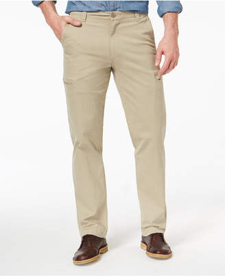 Dockers Utility Cargo Straight Fit Khaki Stretch Pants