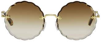 Chloé Gold Rosie Sunglasses