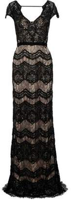 Catherine Deane Katherine Embellished Chantilly Lace Gown