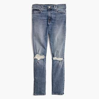 J.Crew Madewell skinny jeans in vintage light with rips