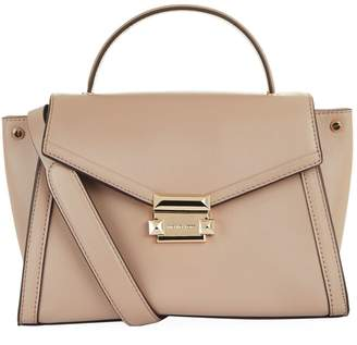 MICHAEL Michael Kors Medium Leather Whitney Satchel