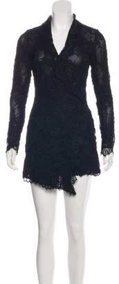 Stone_Cold_Fox Stone Cold Fox Lace Mini Dress