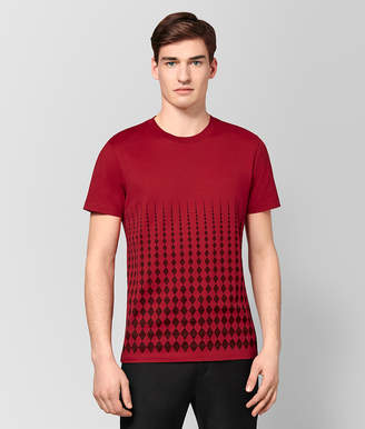 Bottega Veneta CHINA RED COTTON T-SHIRT