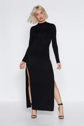 Nasty Gal Get My Good Side Maxi Dress