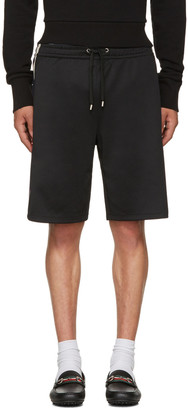 Gucci Black Logo Tape Shorts $790 thestylecure.com