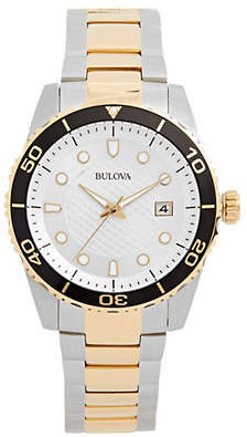 Bulova Classic Sport Two-Tone Stainless Steel Analog Watch