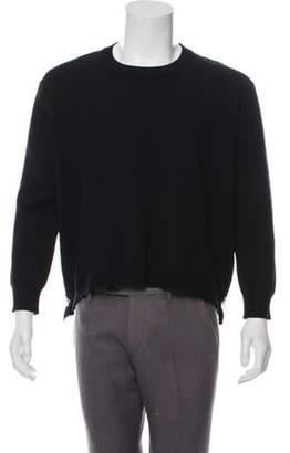 Acne Studios Rib Knit Crew Neck Sweater black Rib Knit Crew Neck Sweater