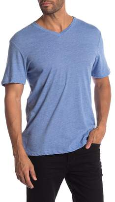 Public Opinion V-Neck Fineline Tee