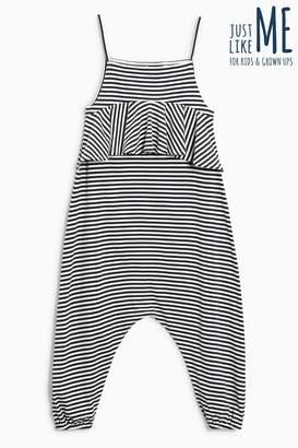 Next Girls Black/White Playsuit (3-16yrs)