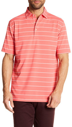 Peter Millar Potter Stripe Mesh Sean Polo $85 thestylecure.com