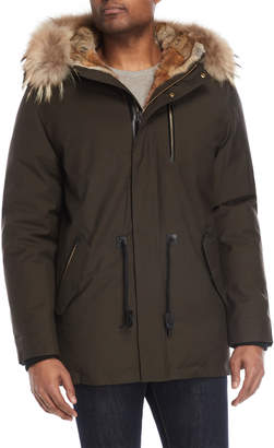 Mackage Army Real Fur-Trimmed Down Coat