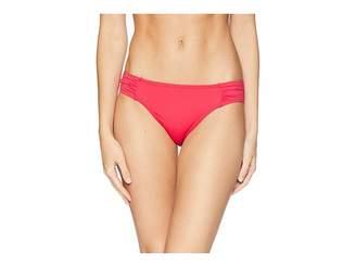 Tommy Bahama Pearl Side Shirred Hipster Women's Swimwear