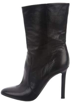 Tamara Mellon Leather Pointed-Toe Boots