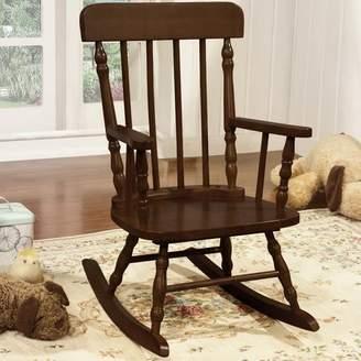 Harriet Bee Della Kid's Solid Pine Wood Rocking Chair