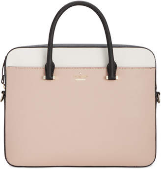 kate spade new york 13-Inch Saffiano Laptop Bag $298 thestylecure.com