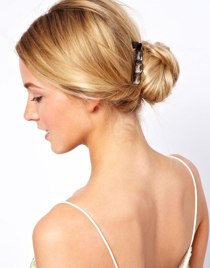 Asos Limited Edition 3 Jewel Hair Brooch
