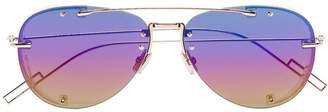 Christian Dior purple Chroma1 metal sunglasses