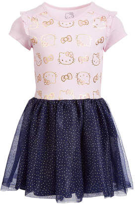 Hello Kitty Little Girls Shimmer Tutu Dress