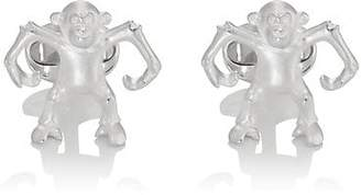 Deakin & Francis Men's Monkey Cufflinks - Silver