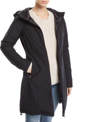 Herno Hooded Reversible Gore-Tex Rain Coat