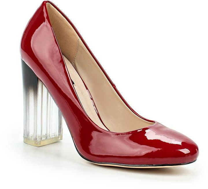 Block Heel Court Shoes - ShopStyle Australia