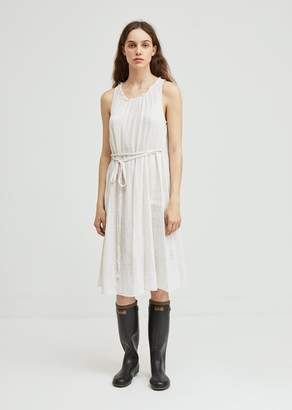 Raquel Allegra Plaid Gauze Full Tank Dress