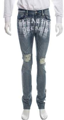 Stampd Light Wash Skinny Jeans