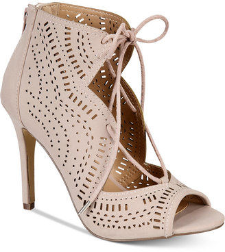 Call It Spring Asoniel Peep-Toe Lace-Up Sandals $59.50 thestylecure.com