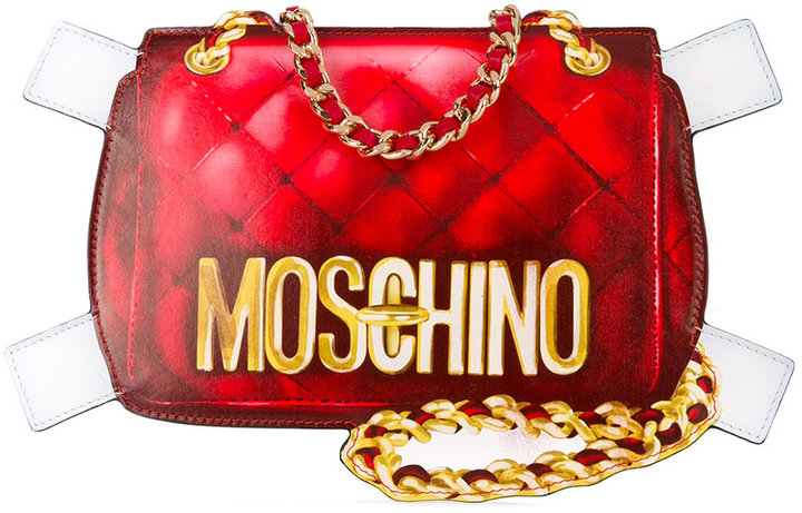 Moschino Moschino 'Trompe l'Oeil' shoulder bag
