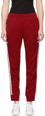 adidas Red SST Track Pants