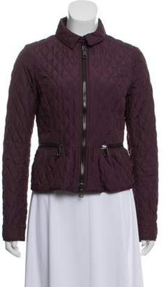 Burberry Quilted Zip-Up Jacket Quilted Zip-Up Jacket