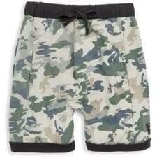 Little Boy's Camouflage Cotton Shorts