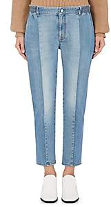 Stella McCartney WOMEN'S TAPERED SKINNY JEANS-BLUE SIZE 28