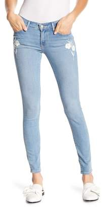 """Levi's 711 Skinny Embroidered Jeans - 30\"""" Inseam"""