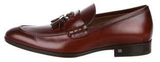 Louis Vuitton Leather Pointed-Toe Loafers
