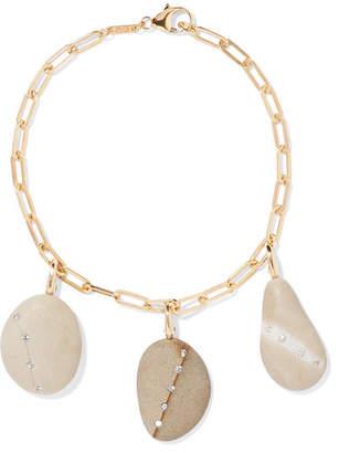 Cvc Stones 18-karat Gold Multi-stone Bracelet