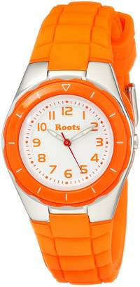 Roots Women's 1R-AT425OR1O Saturna Plastic Watch
