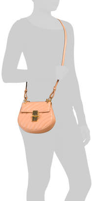 Chloé Made In Italy Leather Quilted Mini Drew Crossbody