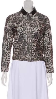 Etoile Isabel Marant Corduroy Printed Jacket