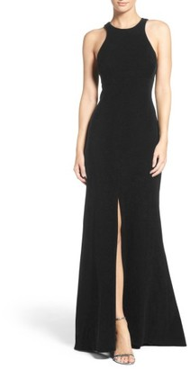 Women's Vera Wang Stretch Woven Mermaid Gown $279 thestylecure.com