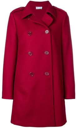 RED Valentino midi double breasted coat