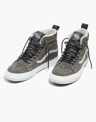 Madewell Vans Sk8-Hi MTE High-Top Sneakers in Suede