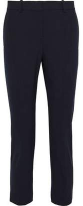 Theory Treeca Cropped Cotton-Blend Twill Tapered Pants