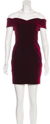 Nicholas Velvet Mini Dress
