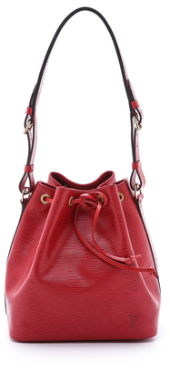 What Goes Around Comes Around Louis Vuitton Petite Epi Noe Bag $1,150 thestylecure.com