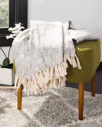 Safavieh Jacqui Metallic Throw Blanket