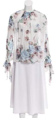 Lover Long Sleeve Floral Blouse w/ Tags