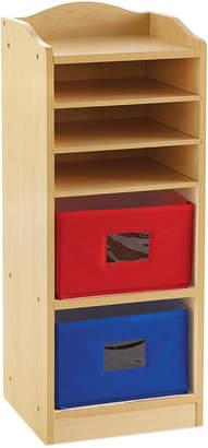 Guidecraft Tall Storage W/2 Bins