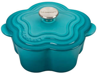 Le Creuset Flower Cocotte with Stainless Steel Knob