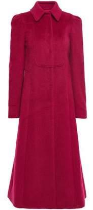 RED Valentino Brushed-felt Coat